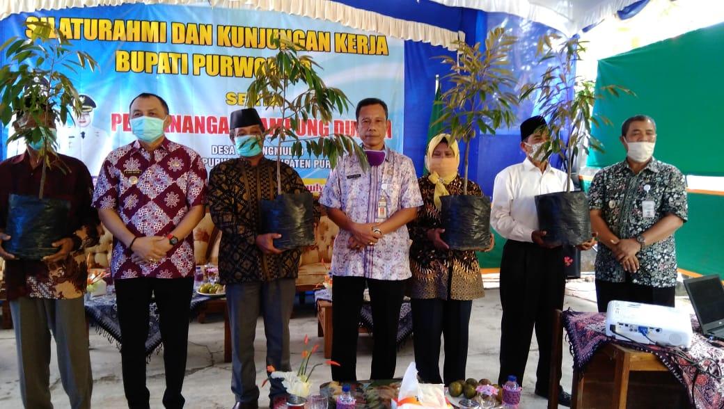 Pencanangan Kampung Durian di Desa Karangmulya Kecamatan Purwodadi - (Ada 1 foto)